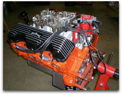 Engines - 409 Chevy Performance